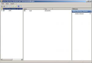 Active Directory-Domaenen und -Vertrauensstellungen