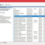 Windows Defender Dienste